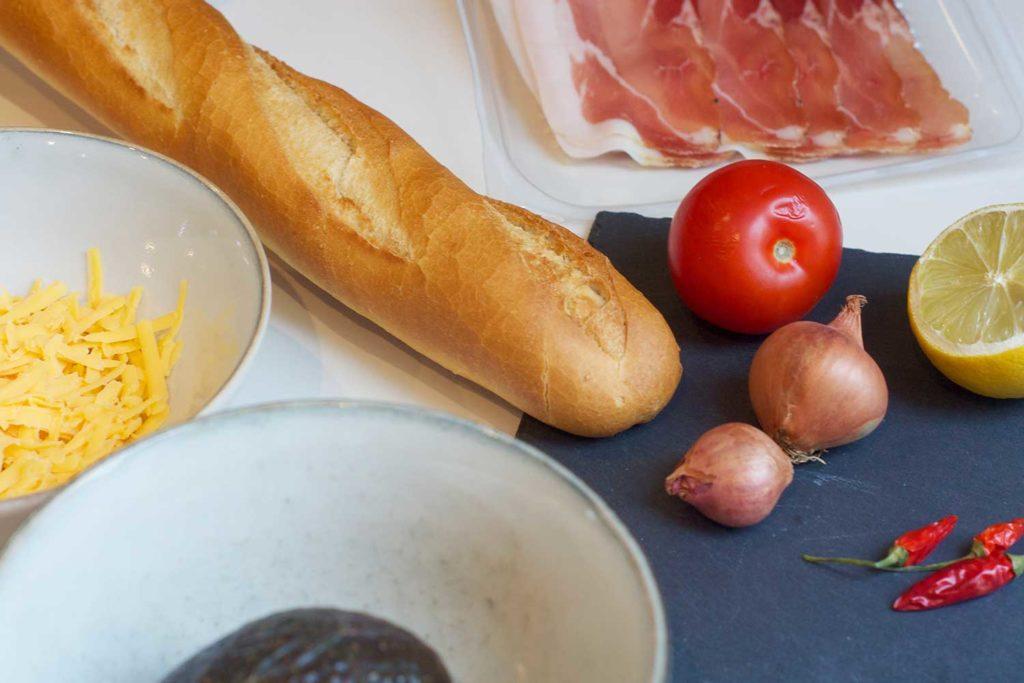 Sandwich mit Avocado Rezept auf Salon Mama - Alle Zutaten