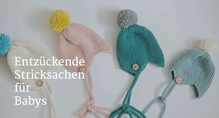 Entzueckende Stricksachen für Babys - Salon Mama