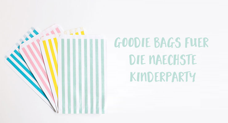 Goodie Bags - Kinderparty
