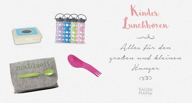Kinder Lunchboxen - Salon Mama