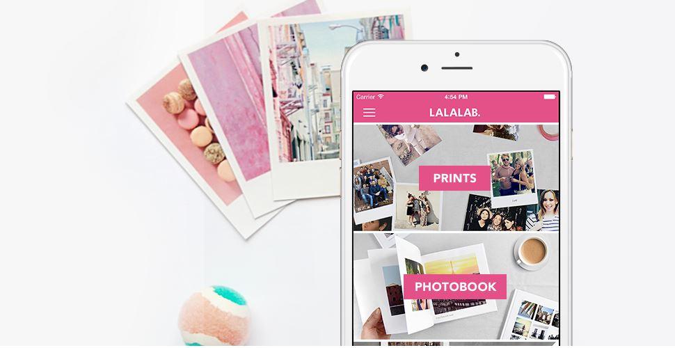 Geschenkideen für den Muttertag Foto App lalalab