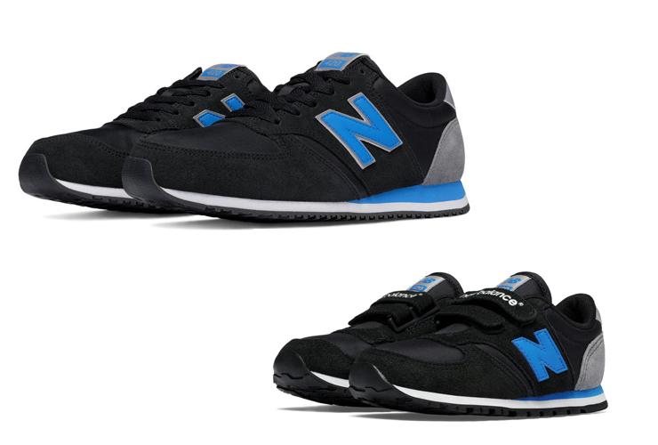Schuhe für kids und Eltern von New Balance