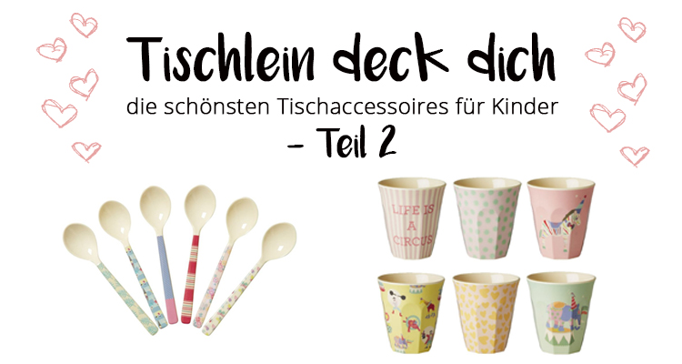 Tischlein deck dich: Teil 2 - Tischaccessoires, die begeistern ... | {Tischaccessoires 83}