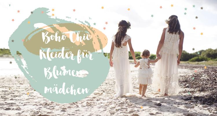 Boho Chic für Blumenmädchen