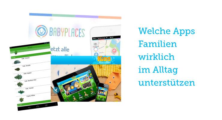 Apps für Familien - Mama App