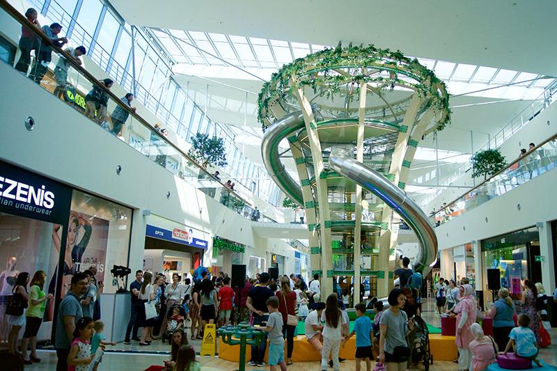 Donauzentrum Wien - Zauber Garten Eröffnung | SALON MAMA