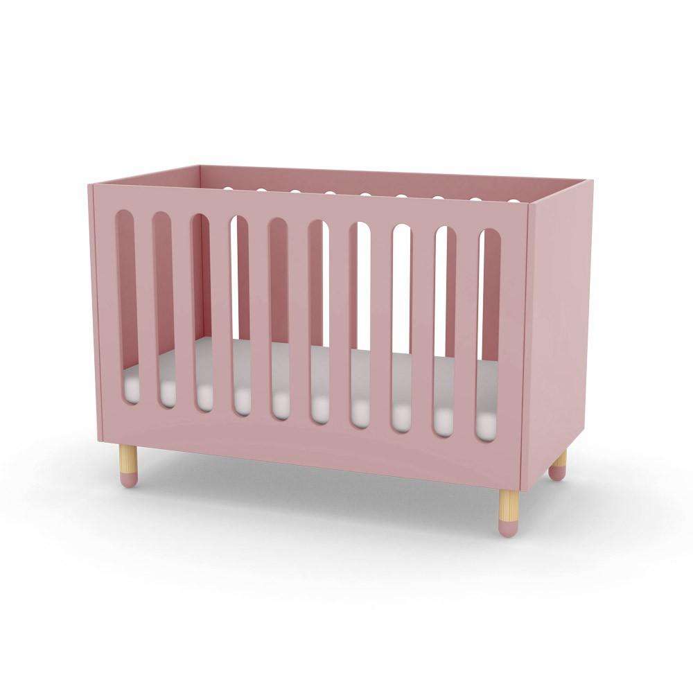 baby-gitterbett-mattrosa