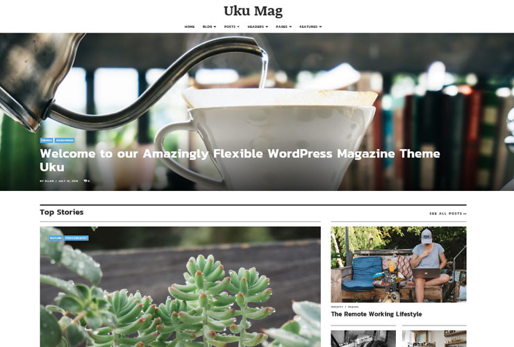 uku mag blog theme