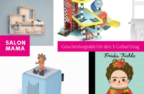 Salon Mama Geschenk-Guide für den 3. Geburtstag