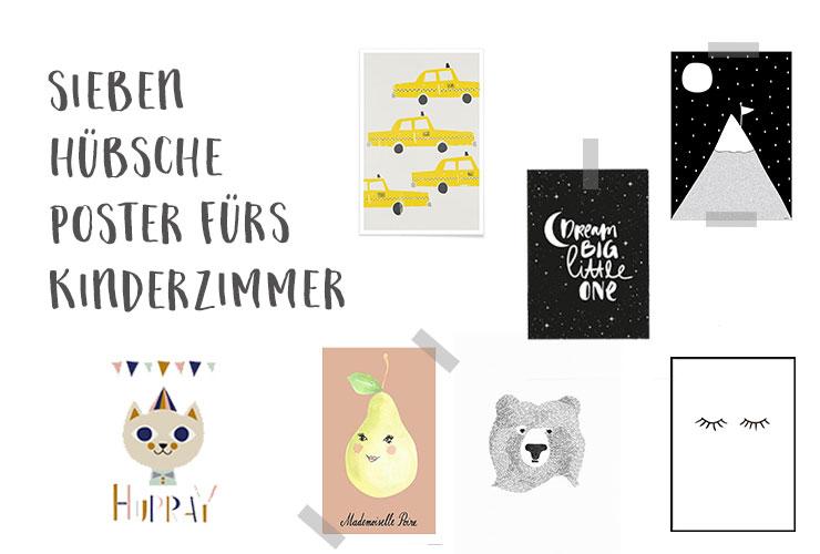 Bilder Fürs Kinderzimmer 7 hübsche poster fürs kinderzimmer salon