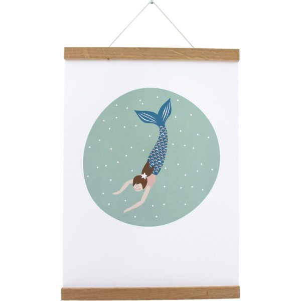 Mermaid Poster Lotti Klein