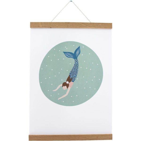 Mermaid Poster Lotti Klein