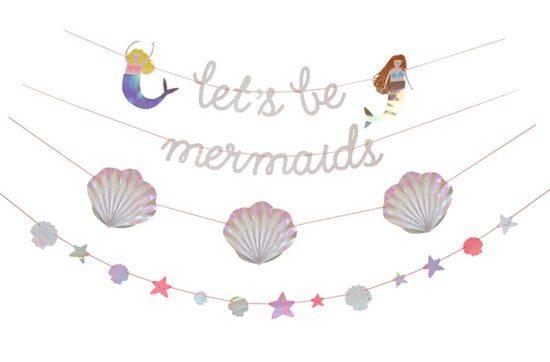 Meri Meri Lets be Mermaids