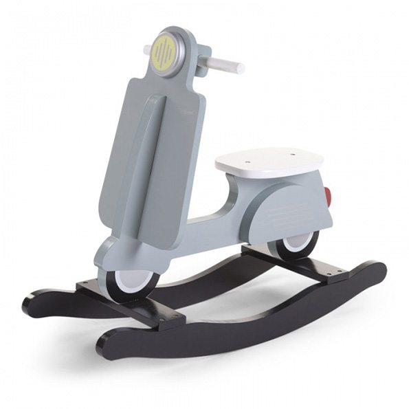 Schaukel Scooter in grauer Farbe von Harmony Ambiente