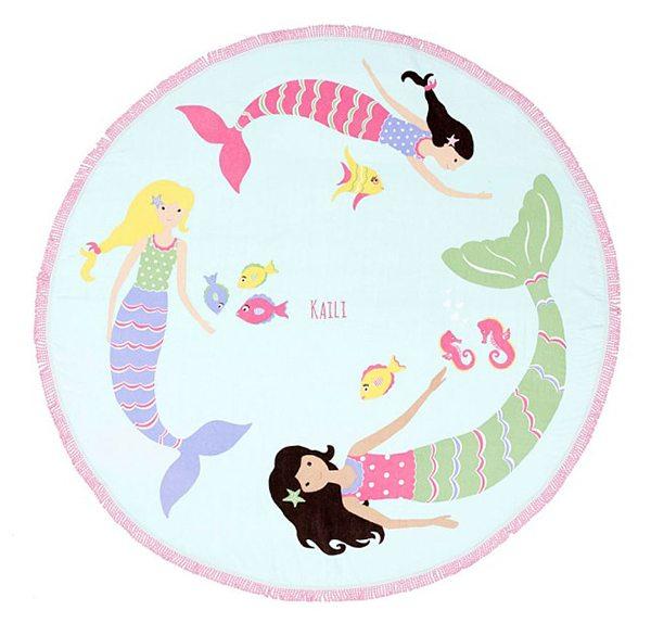 Meerjungfrauen Kinderhandtuch